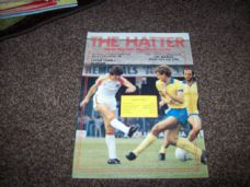 Luton Town v Oldham Athletic, 1981/82